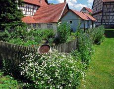 Bauernhausgarten in Gebersheim