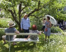 Rückblick Aktion 2015: Reise durch die Gärten