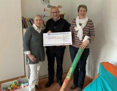 2.500€ für Familienherberge-Lebensweg